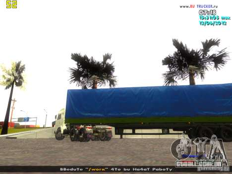 Nefaz 93344 para GTA San Andreas esquerda vista