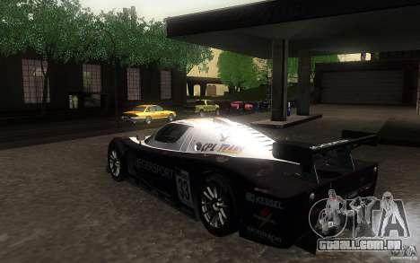 Maserati MC12 GT1 para GTA San Andreas vista direita