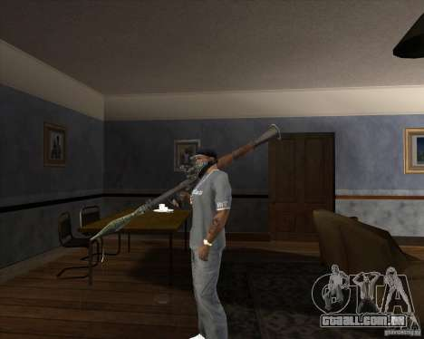 RPG 7 de Battlefield Vietnam para GTA San Andreas segunda tela