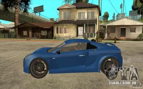 Mastretta MXT v1.1 para GTA San Andreas esquerda vista