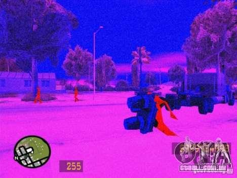 Parecido com o Counter-Strike para GTA San Andre para GTA San Andreas quinto tela