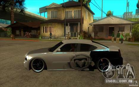 Dodge Charger SRT8 Tuning para GTA San Andreas esquerda vista
