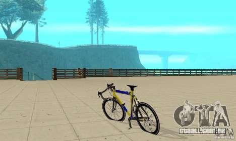Racing Cycle Turmac Legnano para GTA San Andreas traseira esquerda vista