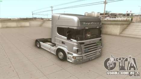 Scania V8 para GTA San Andreas vista direita