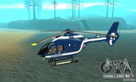 EC-135 Gendarmerie para GTA San Andreas