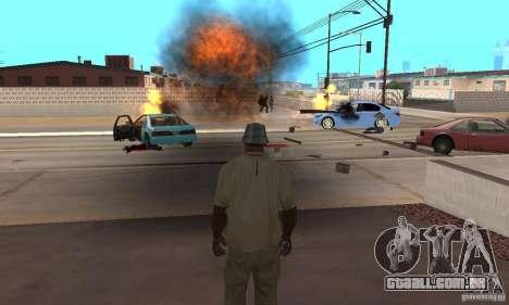 Hot adrenaline effects v1.0 para GTA San Andreas quinto tela
