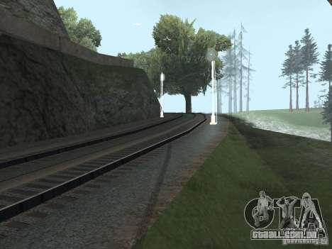 Luzes de tráfego ferroviário 2 para GTA San Andreas terceira tela