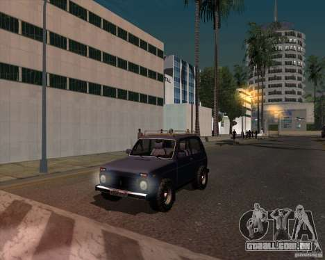 VAZ 21213 Offroad para GTA San Andreas vista direita
