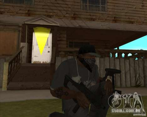 Resident Evil 4 weapon pack para GTA San Andreas terceira tela