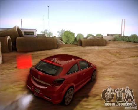 Opel Astra Saturn para GTA San Andreas esquerda vista