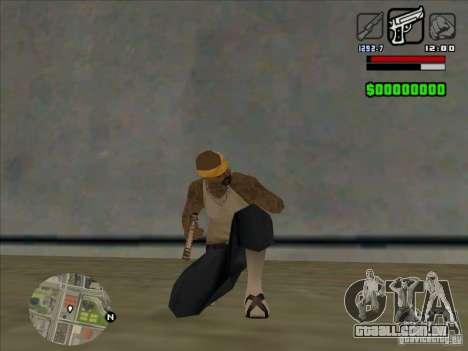 HUD by Alex para GTA San Andreas por diante tela