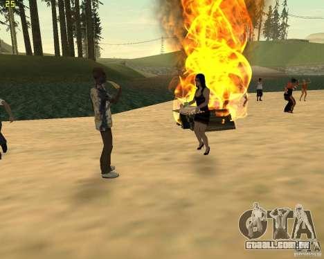 Festa da natureza para GTA San Andreas oitavo tela
