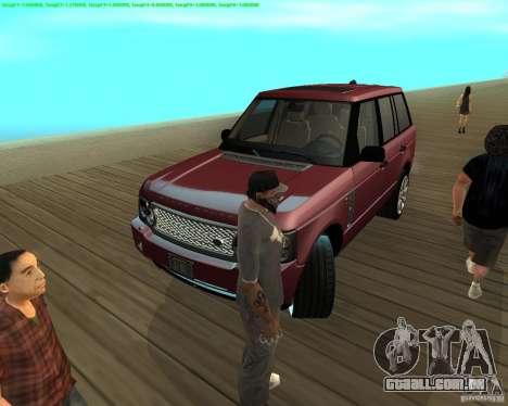 A roda tornou-se quando sair de um carro para GTA San Andreas