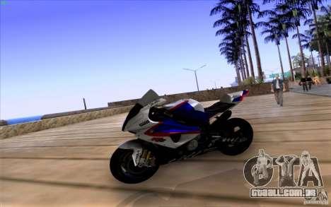 BMW S1000 RR para GTA San Andreas vista direita