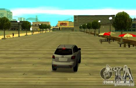 Mazda CX7 para GTA San Andreas traseira esquerda vista