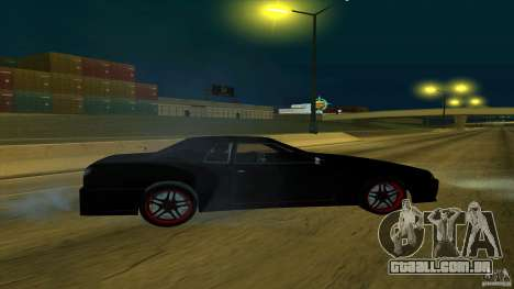 New elegy v1.0 para GTA San Andreas traseira esquerda vista