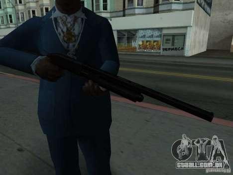 Remington 870 Action Express para GTA San Andreas terceira tela