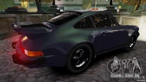 Porsche 911 1987 para GTA 4 esquerda vista