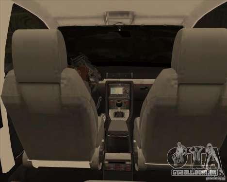AUDI S4 Sport para GTA San Andreas vista superior