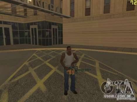 Regeneração dos braços em assassinato para GTA San Andreas