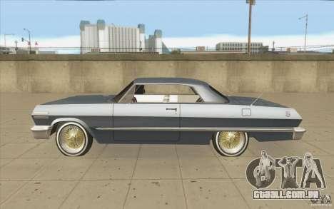 Voodoo para GTA San Andreas esquerda vista