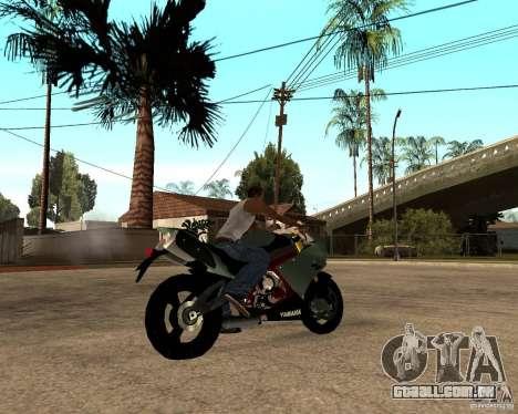 Yamaha R1 2010 para GTA San Andreas