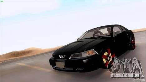 Ford Mustang GT 1999 para as rodas de GTA San Andreas