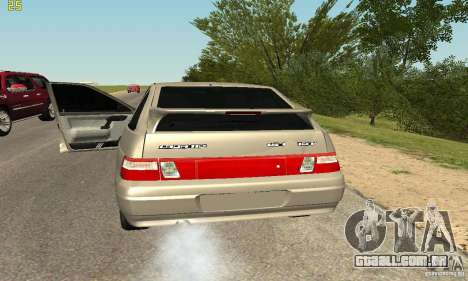 VAZ-2112 para GTA San Andreas vista traseira