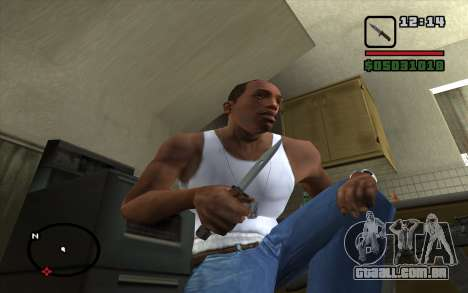 Baioneta AKM para GTA San Andreas