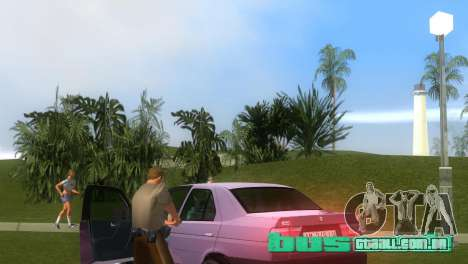 Alfa Romeo 155 Entry 1992 para GTA Vice City vista direita