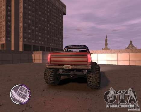 Monster from San Andreas para GTA 4 vista de volta