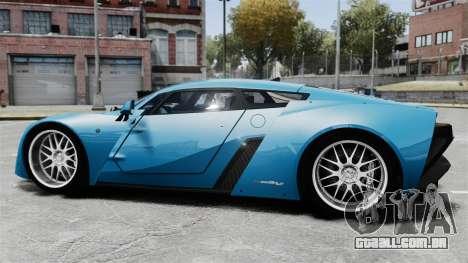 Marussia B2 para GTA 4 esquerda vista