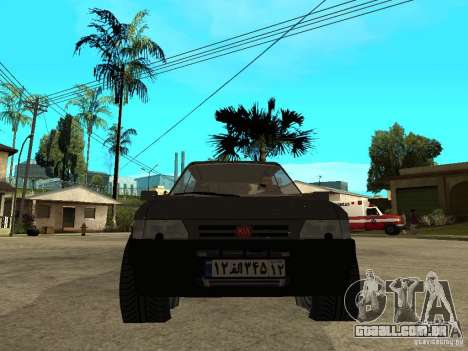 Kia Pride para GTA San Andreas vista direita