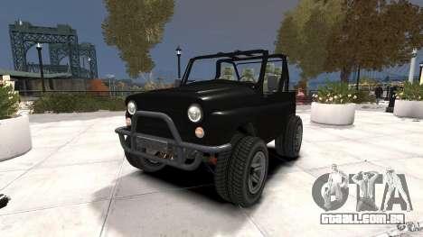 Verme UAZ-3150 para GTA 4