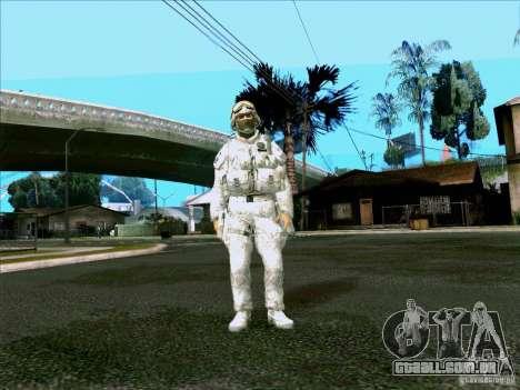 Camuflagem eletrônica Morpeh para GTA San Andreas