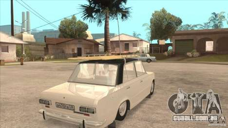 VAZ 2101 Dag para GTA San Andreas esquerda vista