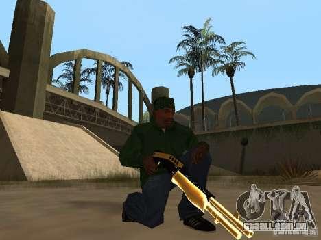 Armas de ouro de Pak para GTA San Andreas sexta tela