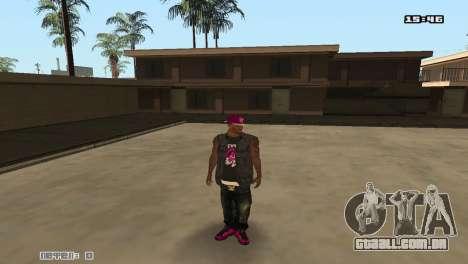 Ballas Skin Pack para GTA San Andreas