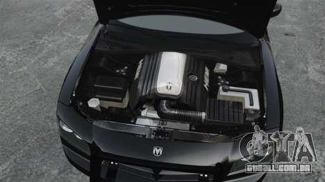 Dodge Charger RT Hemi FBI 2007 para GTA 4 vista direita