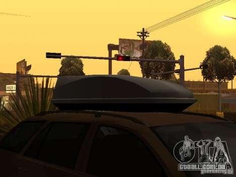 Skoda Octavia para GTA San Andreas vista inferior