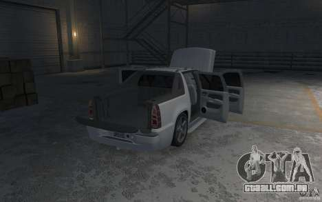 Chevrolet Avalanche v1.0 para GTA 4 vista inferior