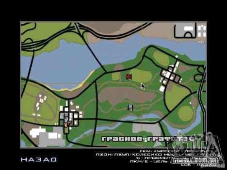 Villa nova para o CJ para GTA San Andreas twelth tela