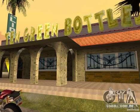 Um novo bar em Gantone para GTA San Andreas