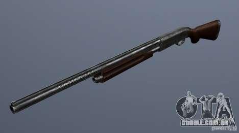 Remington 870AE Silver para GTA San Andreas segunda tela