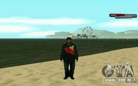 Drug Dealer HD Skin para GTA San Andreas quinto tela