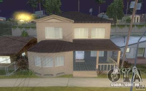 Quatro casas novas na Grove Street para GTA San Andreas