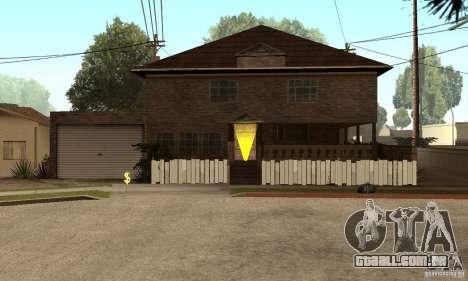 Novos esconderijos interiores para GTA San Andreas