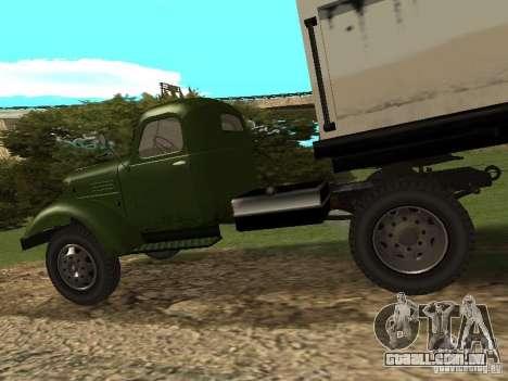 ZIL 164P para GTA San Andreas vista direita