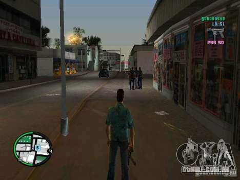 HUD do GTA IV 2.2 RC1 para GTA Vice City