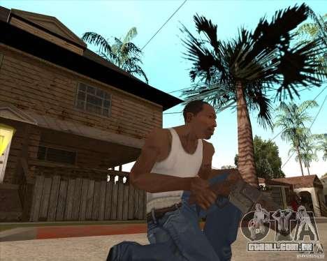 CoD:MW2 weapon pack para GTA San Andreas oitavo tela